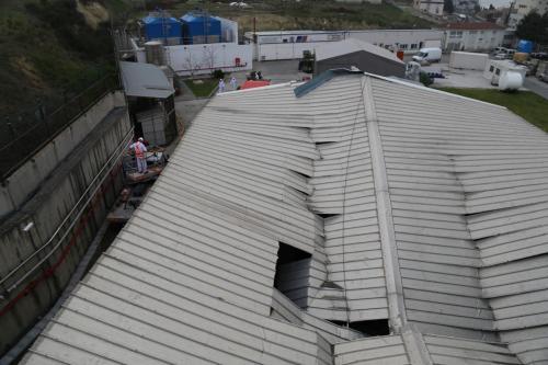 Çatı Hasarları Giderme